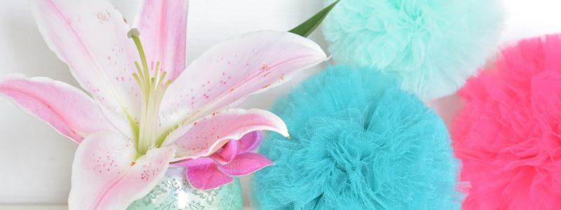 blog DIy pompons en tissu