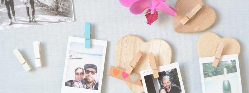 DIY petit budget : les cœurs en bois aimantés