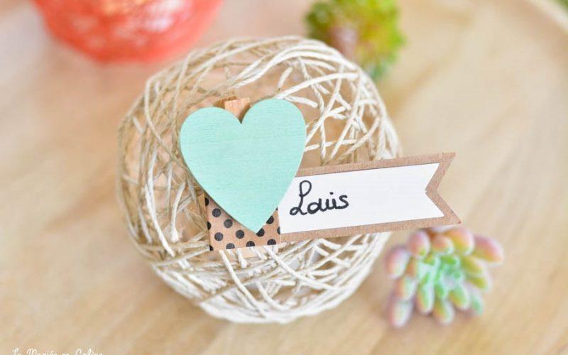 DIY mariage petit budget : des boules de ficelle
