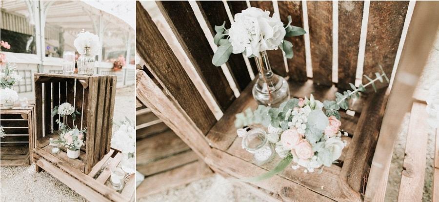 comment décorer mariage champêtre
