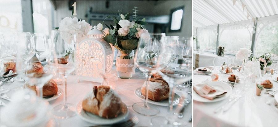 décoration table mariage champêtre bucolique