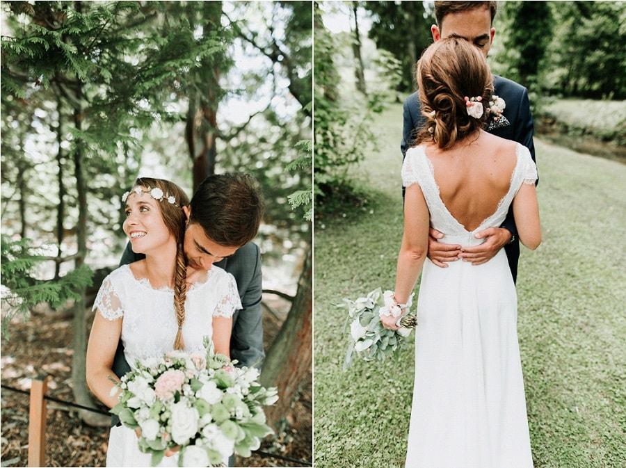 robe de mariée champêtre chic