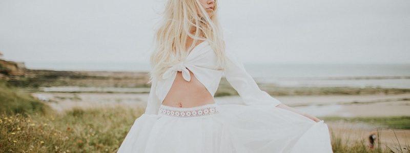 Robes de mariée 2018 : 10 modèles de jupes avec top crop