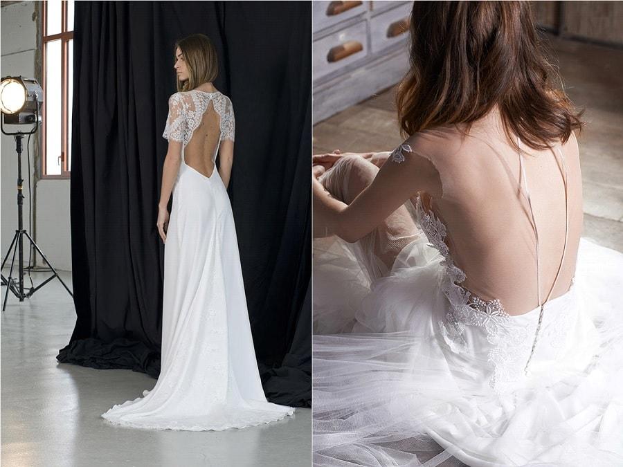 robe mariage dos nu