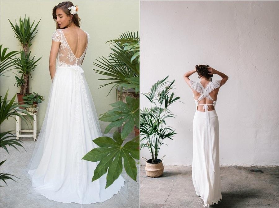 robes de mariée dos nus