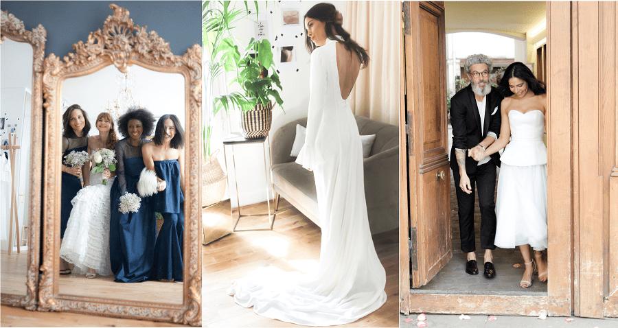 tenue de mariage paris