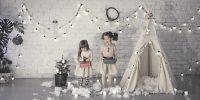 25 tipis canons pour décorer la chambre de votre enfant