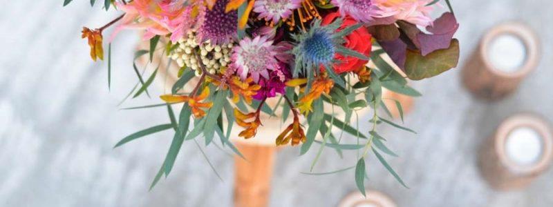 {Inspiration} Un Bouquet de mariée d'automne
