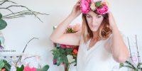 DIY : Une couronne de fleurs pour mon mariage