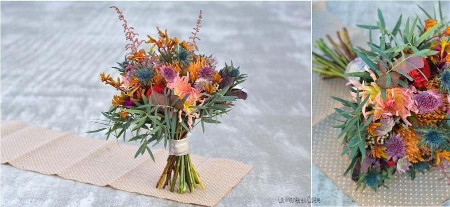 Inspiration un bouquet de mari e d 39 automne for Bouquet de fleurs 7 lettres