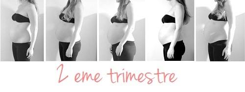deuxième trimestre grossesse
