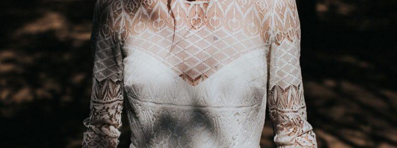 Robes de mariée 2018 : quand la dentelle tatoue la mariée