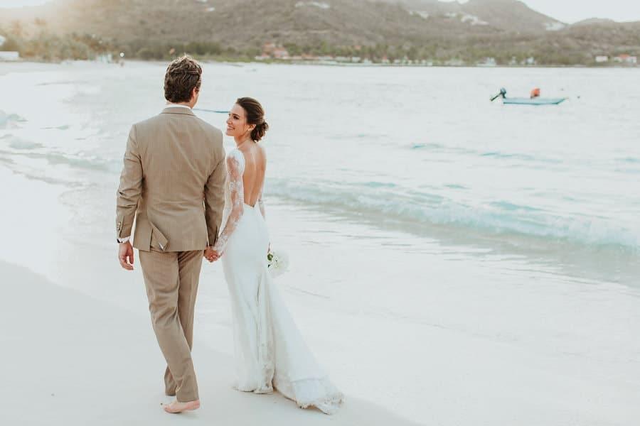 future mariée plage