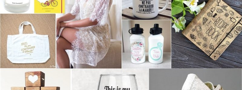 10 idées de cadeaux de Noël pour une future mariée