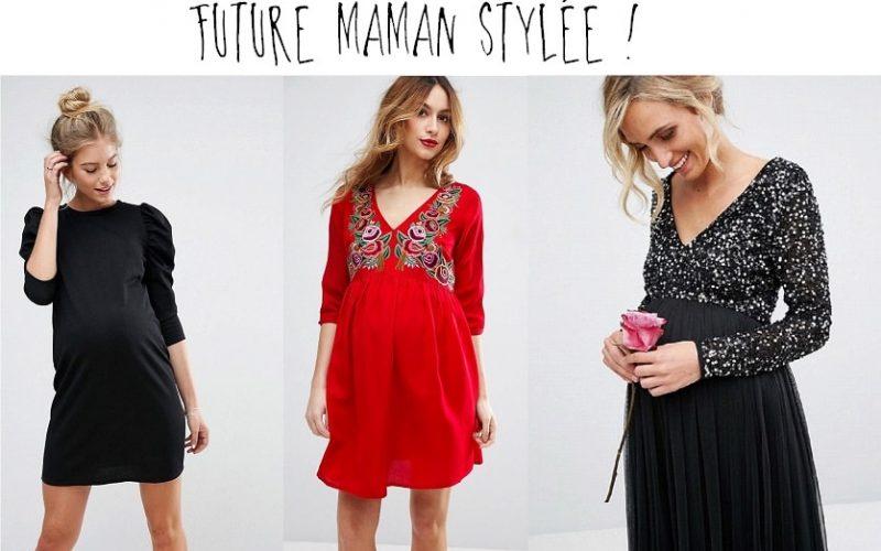 Stylée enceinte : 25 tenues de fêtes pour future maman