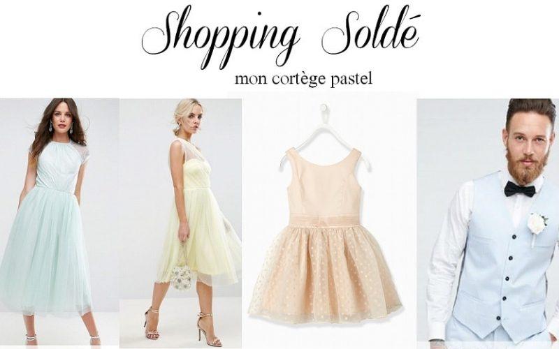 Shopping : Mon cortège en total look pastel