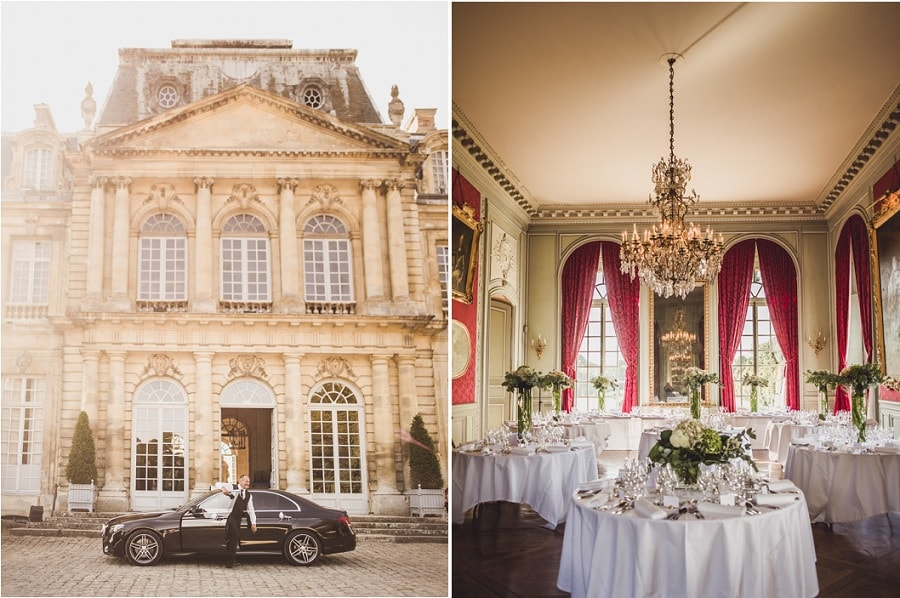 mariage chic chateau