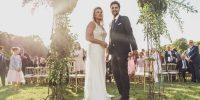 Reportage {Bérénice & Jérôme} Mariage en rose poudré, or et blanc