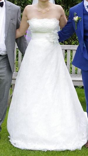 robe mariage rosa clara