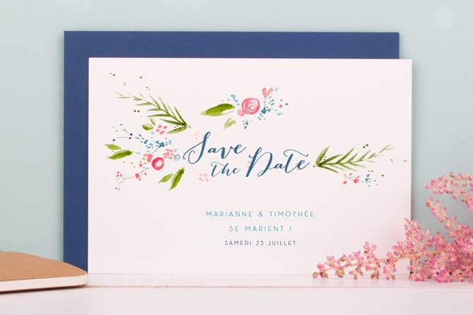 quand envoyer save the date mariage