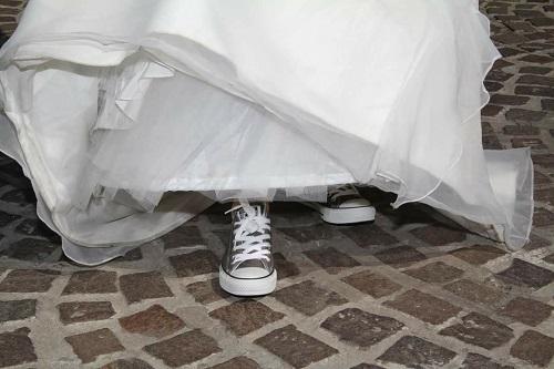 chaussures mariée baskets