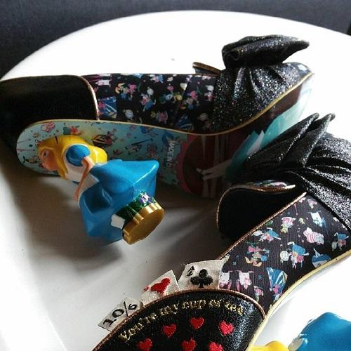 t moignages mes chaussures originales de mari e. Black Bedroom Furniture Sets. Home Design Ideas
