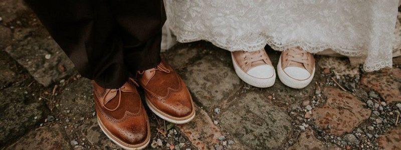 chaussures originales mariée