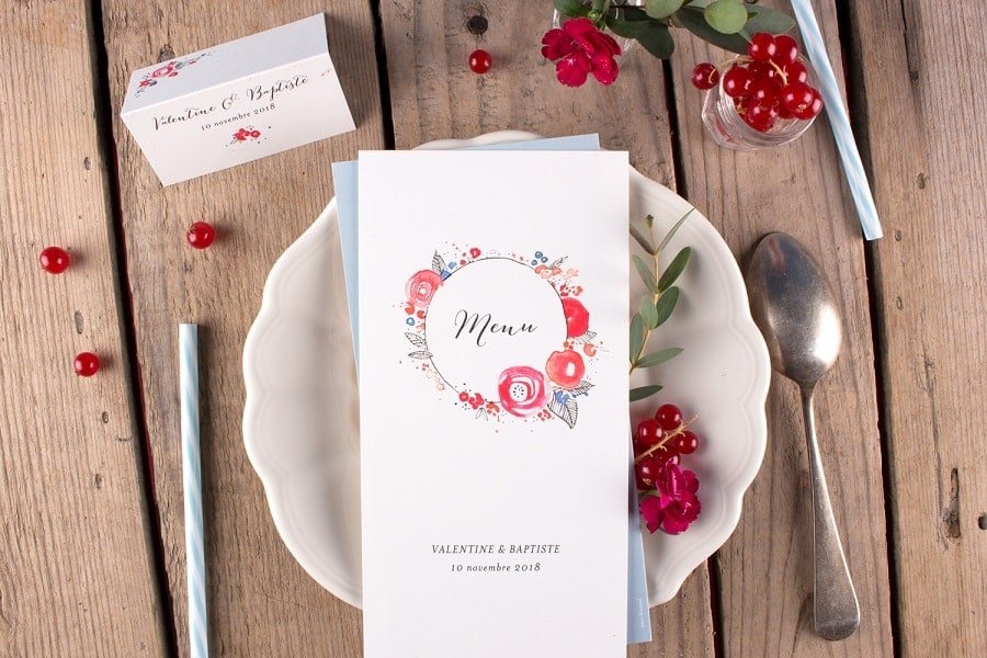 planning papeterie mariage