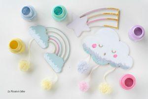 DIY déco chambre bébé-