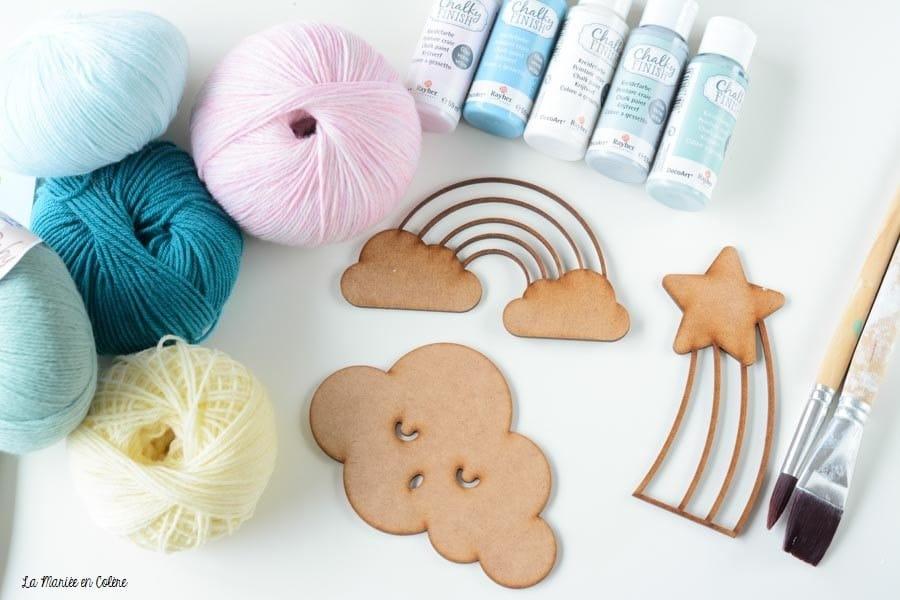 DIY décoration chambre bébé-