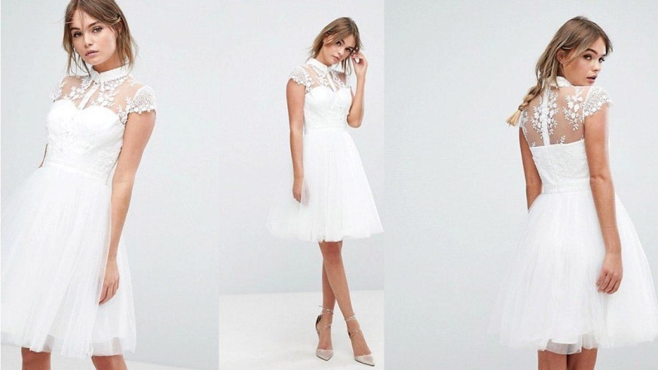 Shopping} 10 robes de mariée courtes pour