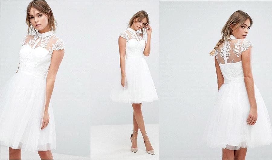 robes courtes lendemain du mariage