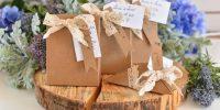 Les contenants à dragées en Kraft : stars des mariages cette année !