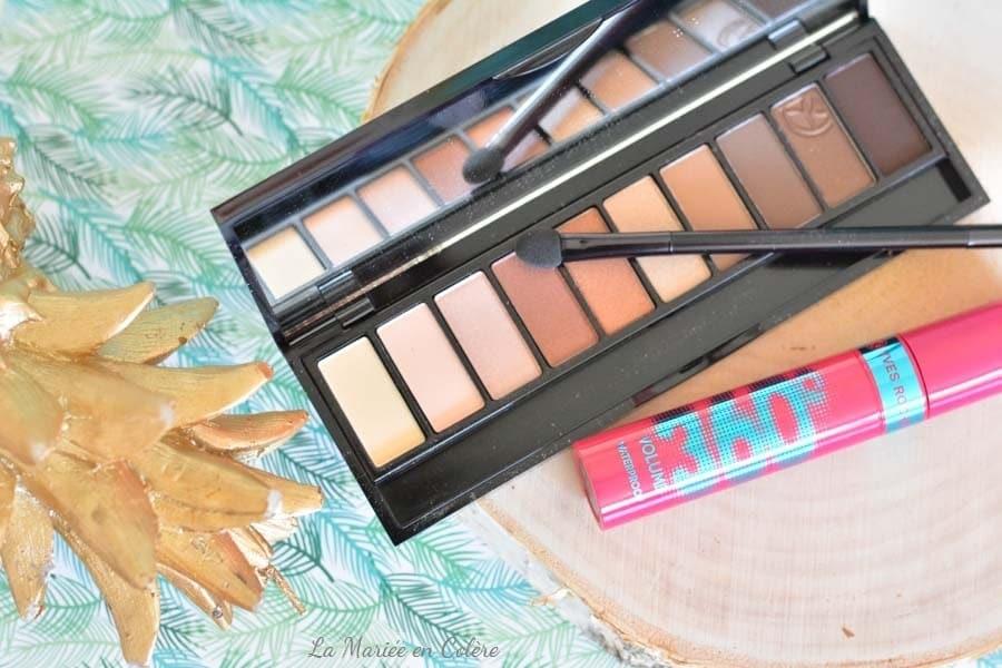 blog palette maquillage mariée