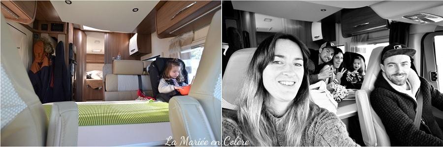camping car avec enfants