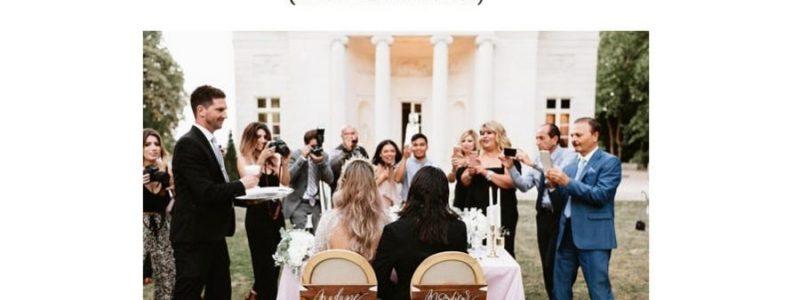 50 idées de décoration de chaises pour les mariés