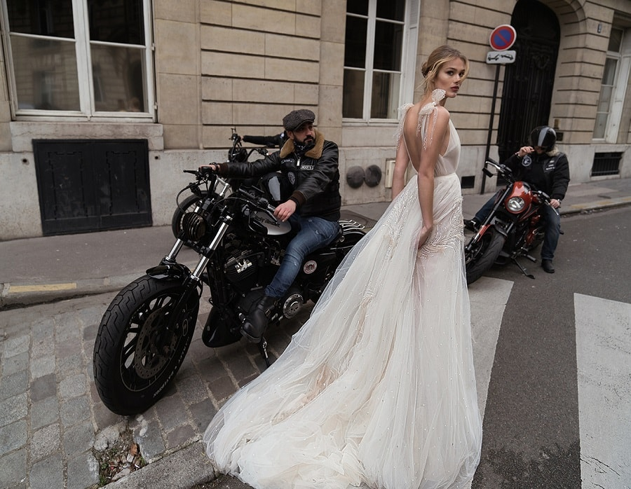Inbal Dror, sera t\u0027elle la créatrice de la robe de mariée de Meghan Markle ?