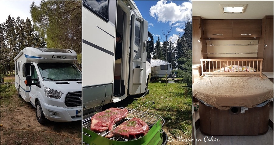 vacances famille camping car