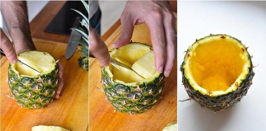 DIY vase ananas