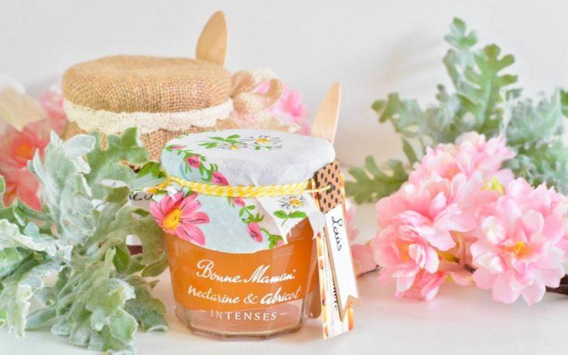 DIY : Customisez des pots Bonne Maman pour les offrir à vos invités de mariage et baptême