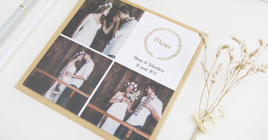 popcarte tendance papeterie mariage dorure