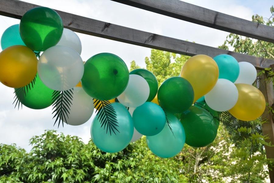 DIY arche ballons