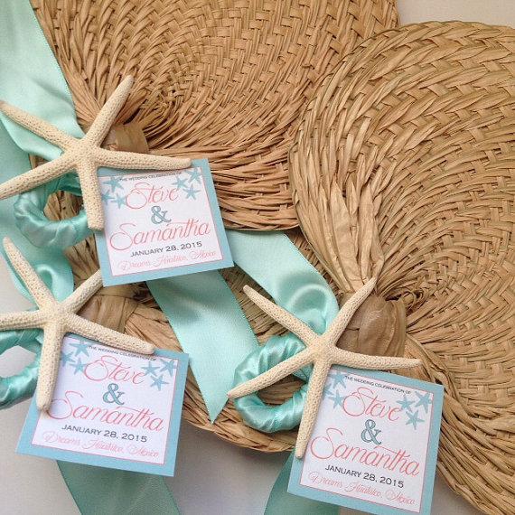 cadeau invités mariage mer