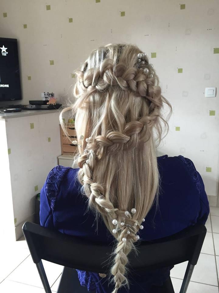 coiffure originale mariée