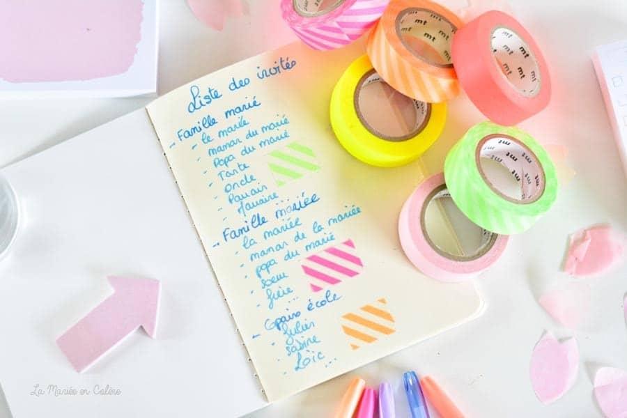 plan de table facile mariage