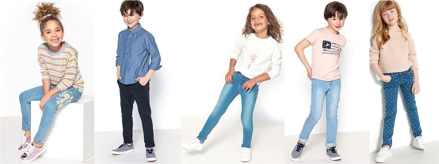 pantalons jeans rentrée des classes