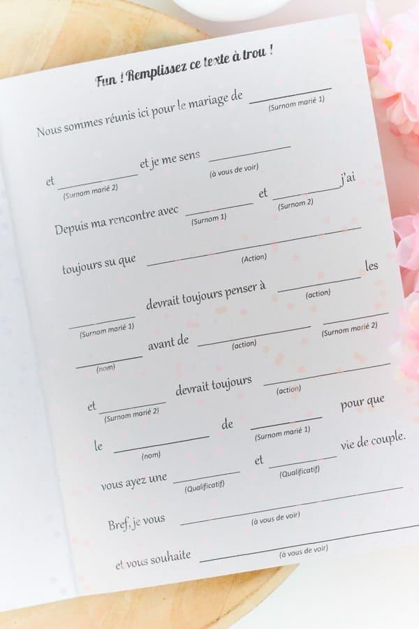 5 texte trou invités mariage animation-min