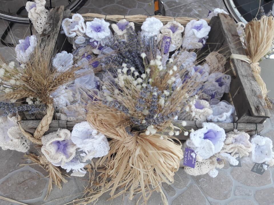 pochons lavande cadeau mariage convives