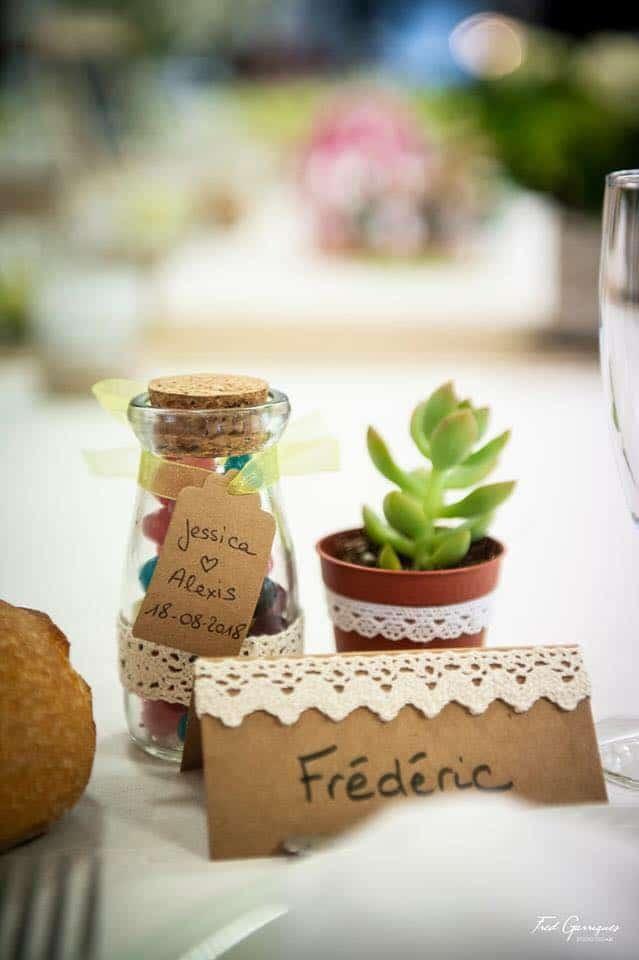 pots dragibus cadeau mariage
