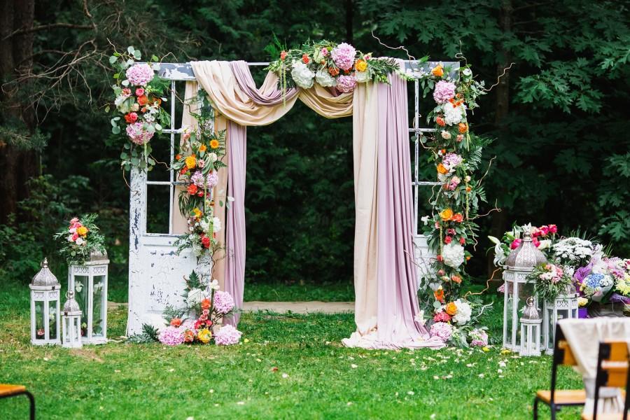 arche cérémonie mariage originale